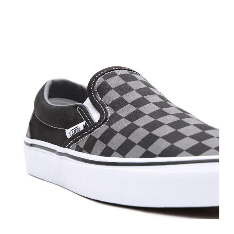 Zapatillas Vans: Ua Classic Slip On (Black Pewter Checkbrd)