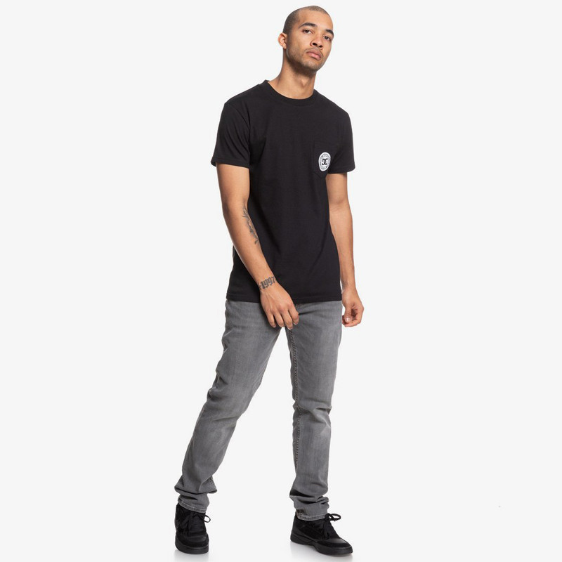 Camiseta DC Shoes: Basic Pocket Te (Black)