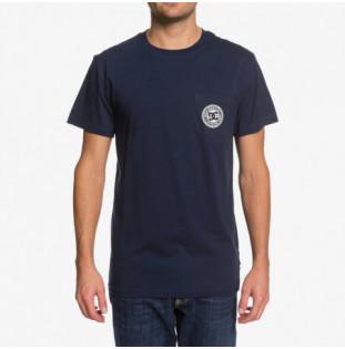 Camiseta DC Shoes: Basic Pocket Te (Black Iris) DC Shoes - 1