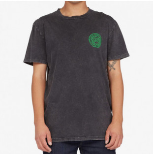 Camiseta DC Shoes: Cool Club TSS (Black Acid Wash) DC Shoes - 1