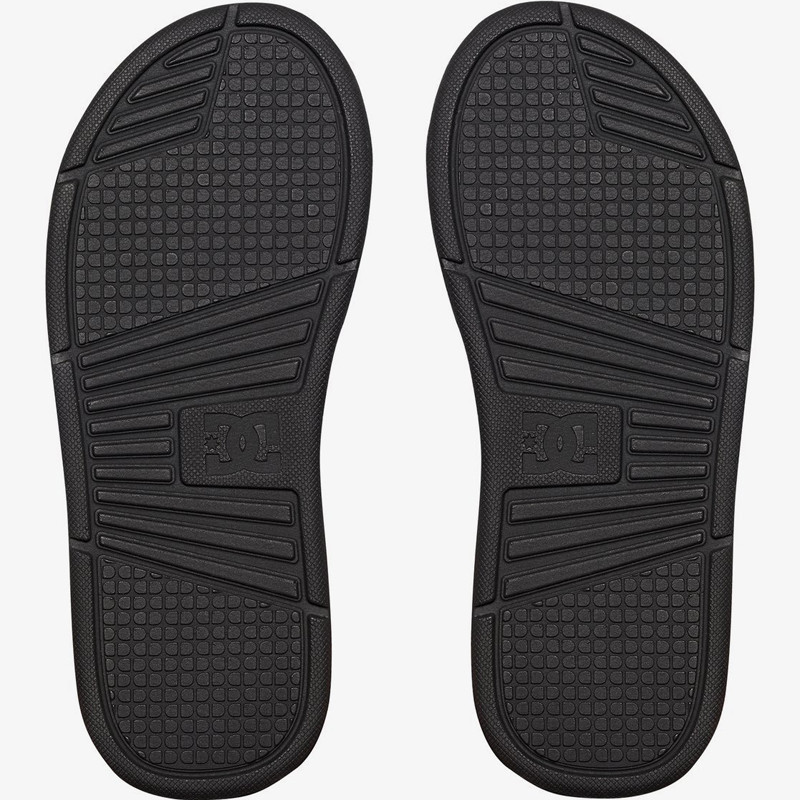 Chanclas DC Shoes: BoLSa (Black Black Black)