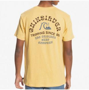 Camiseta Quiksilver: Foreign Tides SS (Rattan Heather) Quiksilver - 1