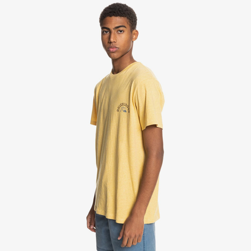 Camiseta Quiksilver: Foreign Tides SS (Rattan Heather)