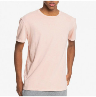 Camiseta Quiksilver: Basic Bubble Embroidery SS (Misty Rose) Quiksilver - 1