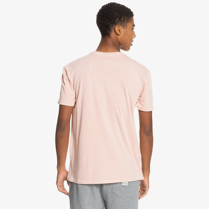 Camiseta Quiksilver: Basic Bubble Embroidery SS (Misty Rose)