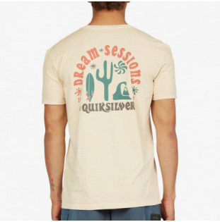 Camiseta Quiksilver: Dream SeSSion SS (Antique White) Quiksilver - 1