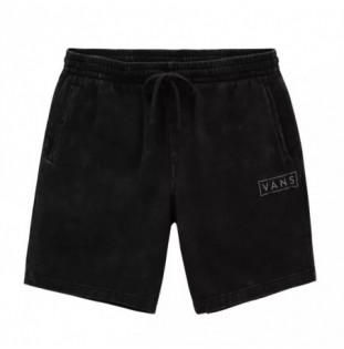 Bermuda Vans: Mn Easy Wash Fleece Short (Black) Vans - 1