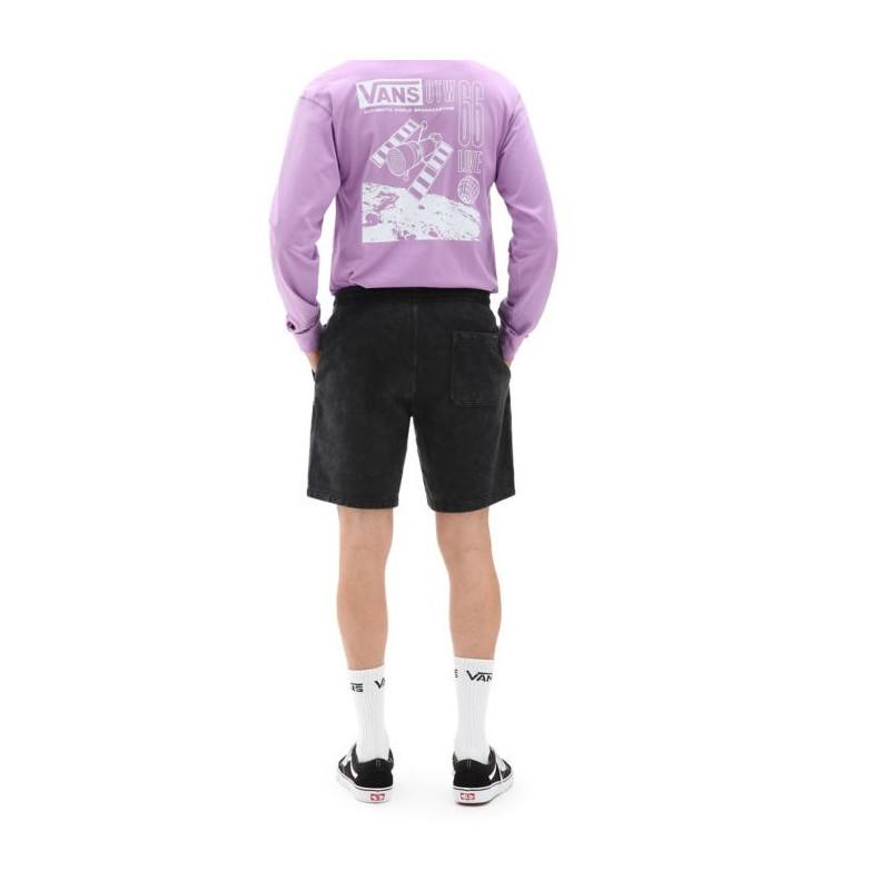 Bermuda Vans: Mn Easy Wash Fleece Short (Black)