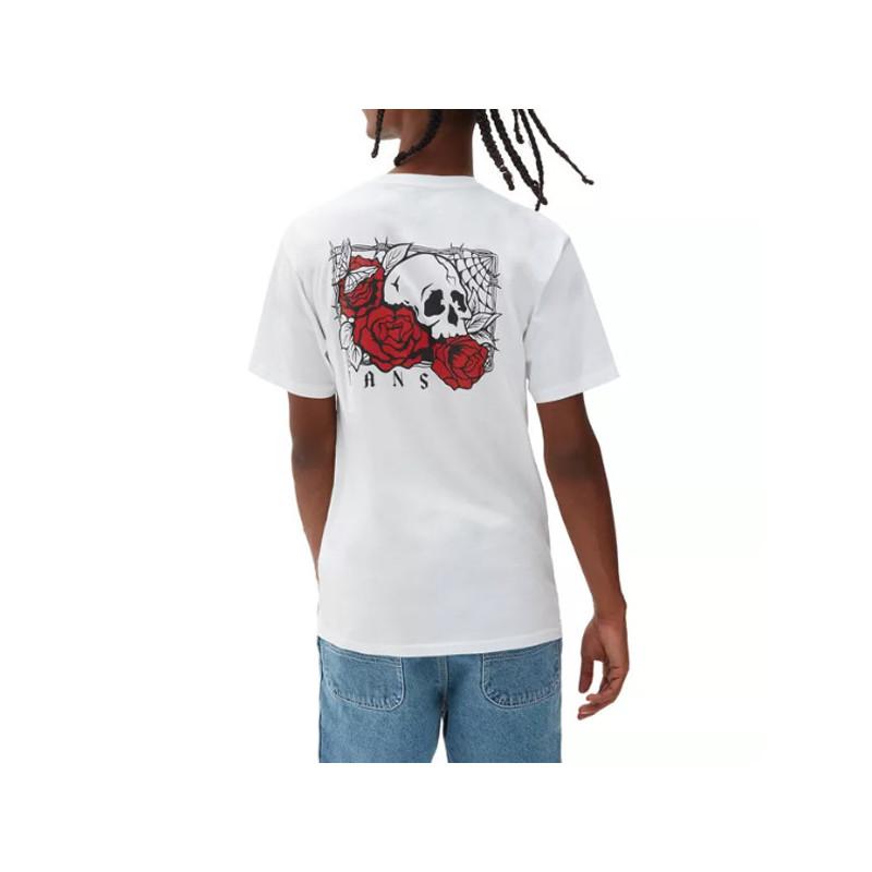 Camiseta Vans: Mn Rose Bed SS (White)