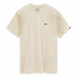 Camiseta Vans: Mn Left Chest Logo Tee (Seed Pearl Black) Vans - 1
