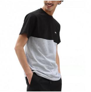 Camiseta Vans: Mn Colorblock Tee (Black Athletic Heather) Vans - 1