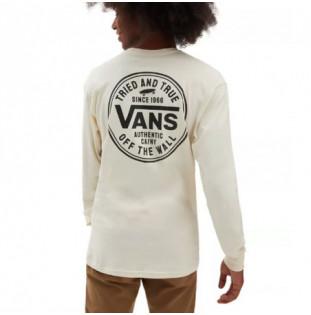 Camiseta Vans: Mn Tried And True LS (Seedpearl) Vans - 1