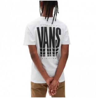 Camiseta Vans: Mn Vans Reflect SS (White) Vans - 1