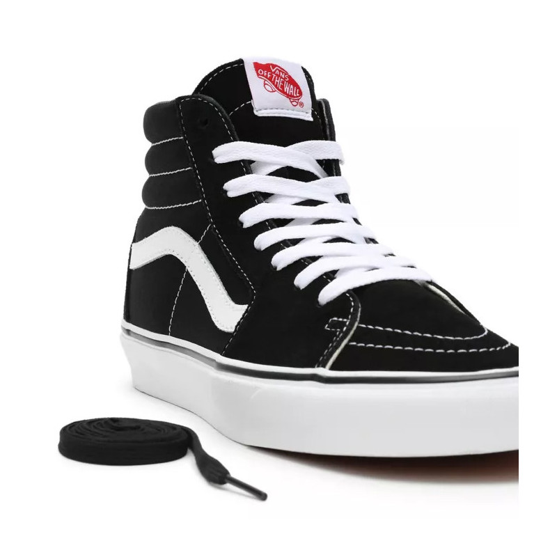 Botas Vans: UA Sk8 Hi (Black Black White)