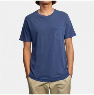 Camiseta RVCA: Ptc 2 Pigment SS (Moody Blue) RVCA - 1