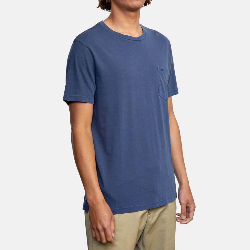 Camiseta RVCA: Ptc 2 Pigment SS (Moody Blue)