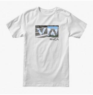 Camiseta RVCA: Balance Box (White) RVCA - 1