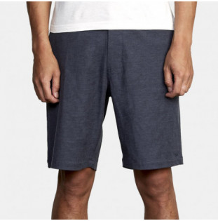 Bermuda RVCA: Back In Hybrid (Denim Heathr) RVCA - 2