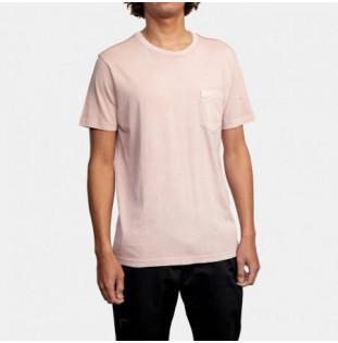 Camiseta RVCA: Ptc 2 Pigment SS (Pale Mauve) RVCA - 1