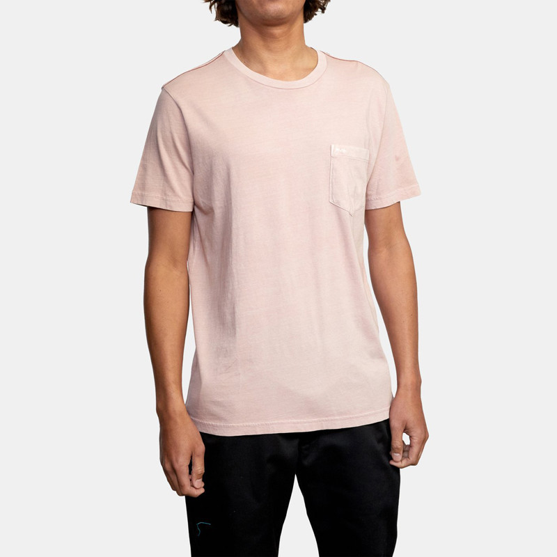 Camiseta RVCA: Ptc 2 Pigment SS (Pale Mauve)
