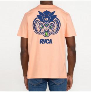 Camiseta RVCA: Snake SS (Sherbet Pink) RVCA - 1