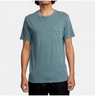 Camiseta RVCA: Ptc 2 Pigment SS (Balsam Green) RVCA - 1