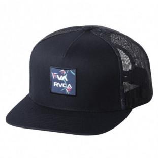 Gorra RVCA: Va Atw Print Trucker (Black) RVCA - 1