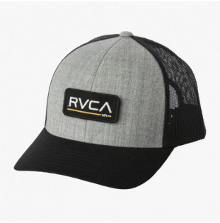 Gorra RVCA: Ticket Trucker III (Hthr Grey Black) RVCA - 1