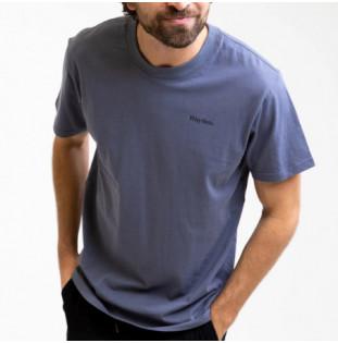 Camiseta Rhythm: Essential Logo T-Shirt (Navy) Rhythm - 1