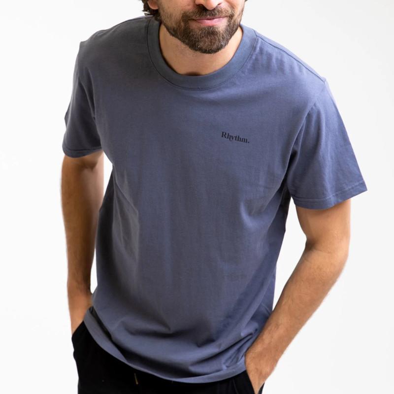 Camiseta Rhythm: Essential Logo T-Shirt (Navy)