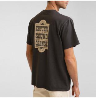 Camiseta Rhythm: Wood Block Tee (Vintage black) Rhythm - 1