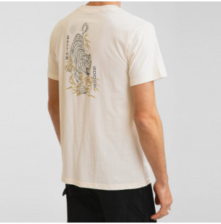 Camiseta Rhythm: Aloha Tiger Tee (Vintage white) Rhythm - 1