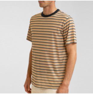 Camiseta Rhythm: Everyday Stripe T-Shirt (Natural) Rhythm - 1