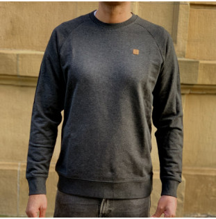 Sudadera Atlas: Okendo Ranglan (Dark Heather Grey) Atlas - 1