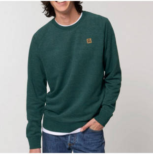 Sudadera Atlas: Okendo Ranglan (Heather Snow Glazed Green) Atlas - 1