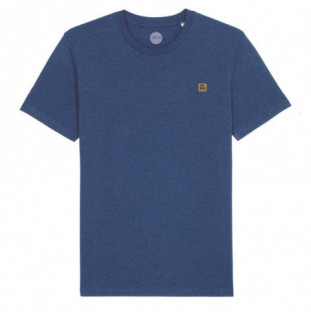 Camiseta Atlas: Okendo Tee (Heather Snow Mid Blue) Atlas - 1