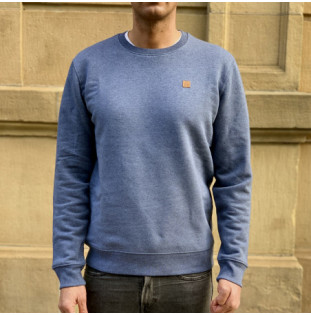 Sudadera Atlas: Okendo Crew (Dark Heather Blue) Atlas - 1