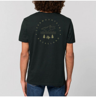 Camiseta Atlas: Itsas & Mendi Tee (Black) Atlas - 1