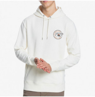 Sudadera Quiksilver: Into The Wide Hood (Antique White) Quiksilver - 1