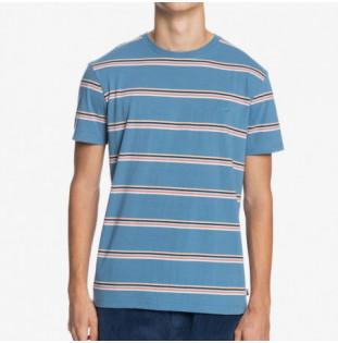 Camiseta Quiksilver: Coreky Mate SS (Captain Blue Coreky) Quiksilver - 1