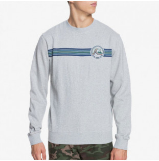 Sudadera Quiksilver: Secret Menu (Light Grey Heather) Quiksilver - 1