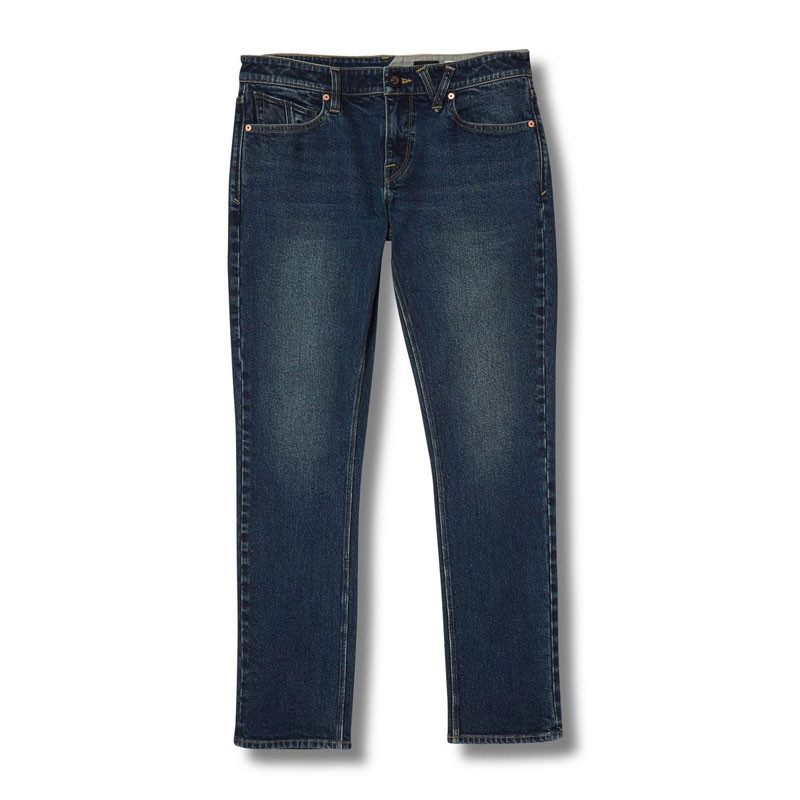 Pantalón Volcom: 2X4 Denim (Medium Blue Wash)