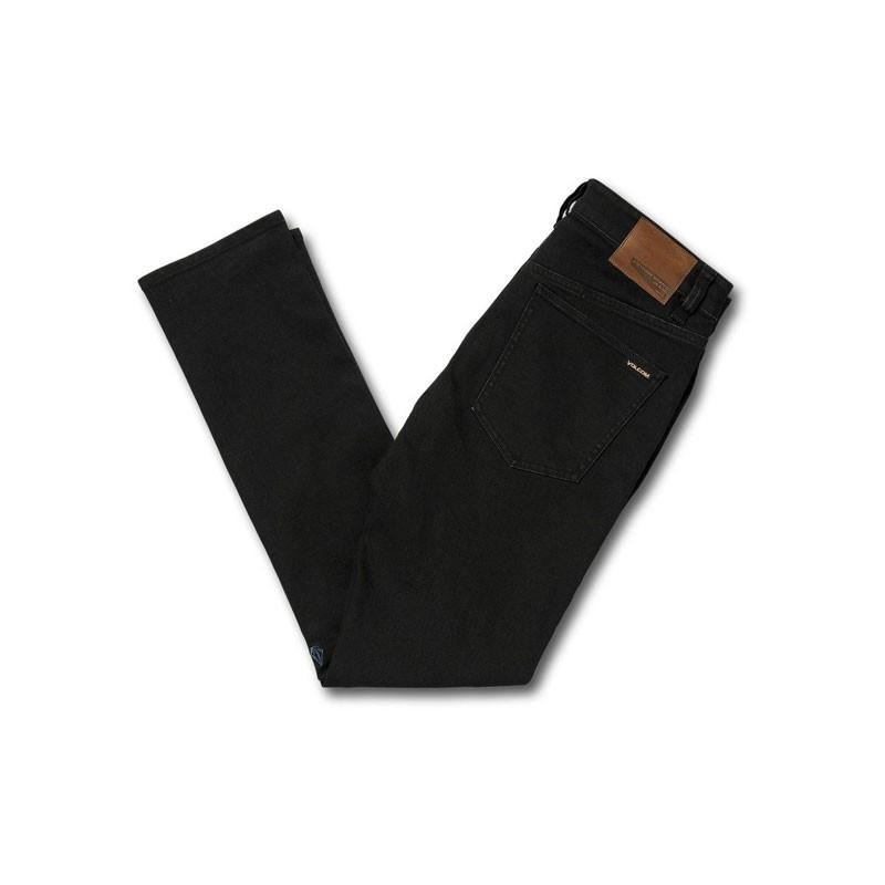 Pantalón Volcom: 2X4 Denim (Blackout)