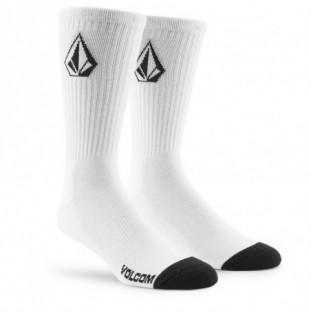 Calcetines Volcom: Full Stone Sock 3Pk (White) Volcom - 1