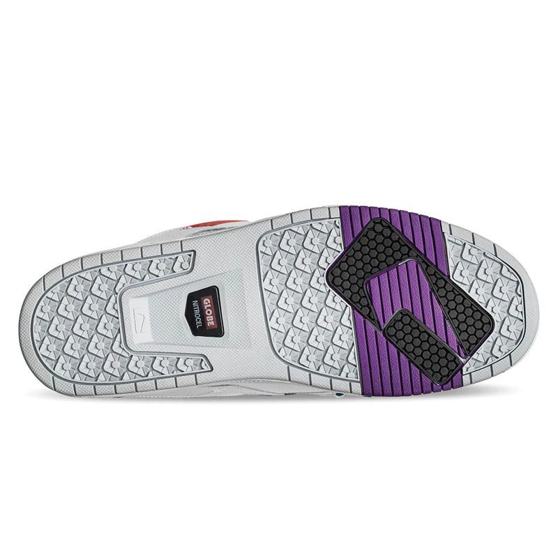 Zapatillas Globe: Sabre (White Grey Multi)