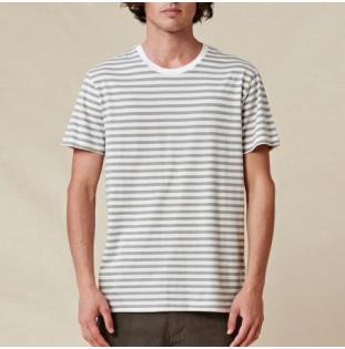 Camiseta Globe: Horizon Striped Tee (White) Globe - 1