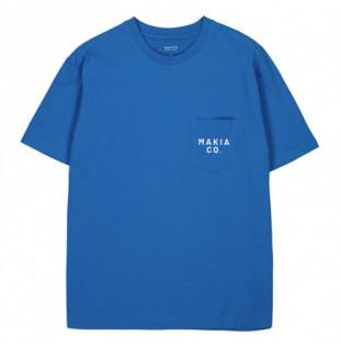 Camiseta Makia: Torp TShirt (French Blue) Makia - 1