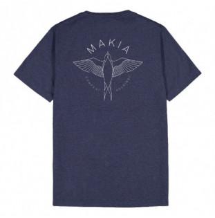 Camiseta Makia: Swallow Tshirt (Blue) Makia - 1