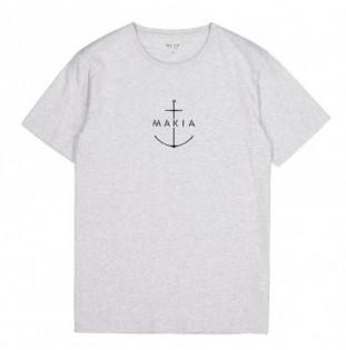 Camiseta Makia: Ankra TShirt (Light Grey) Makia - 1
