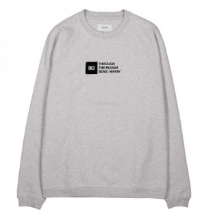 Sudadera Makia: Flint Light Sweatshirt (Light Grey) Makia - 1